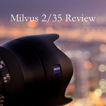 Zeiss Milvus 35mm f2 Review – Nederlands