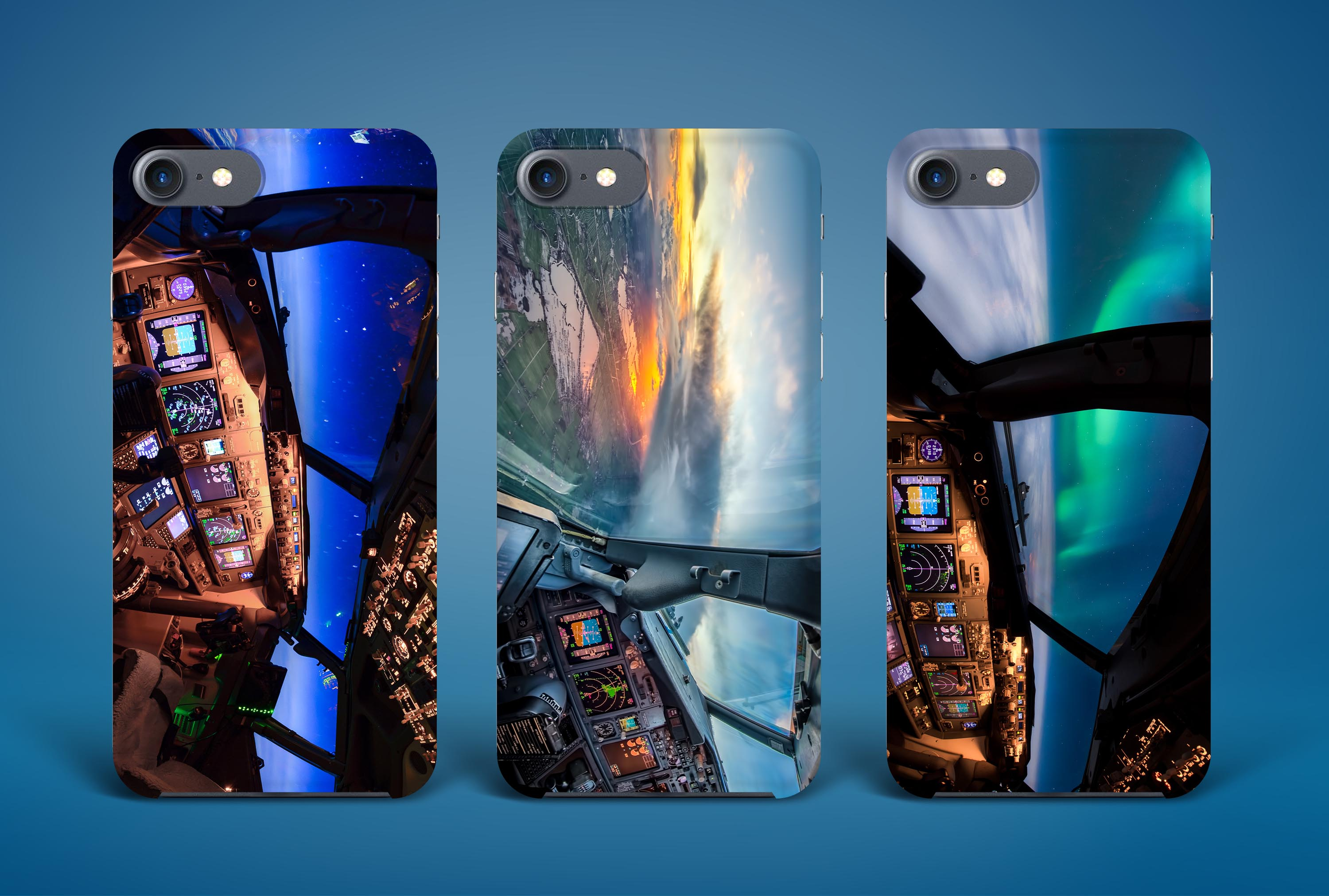 Aviation iPhone and Samsung cases