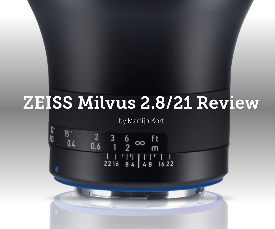ZEISS Milvus 21mm f2.8 review