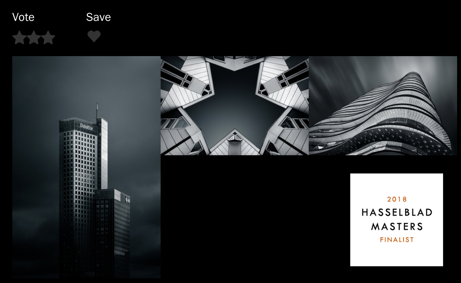 Hasselblad Masters 2018 Finalist
