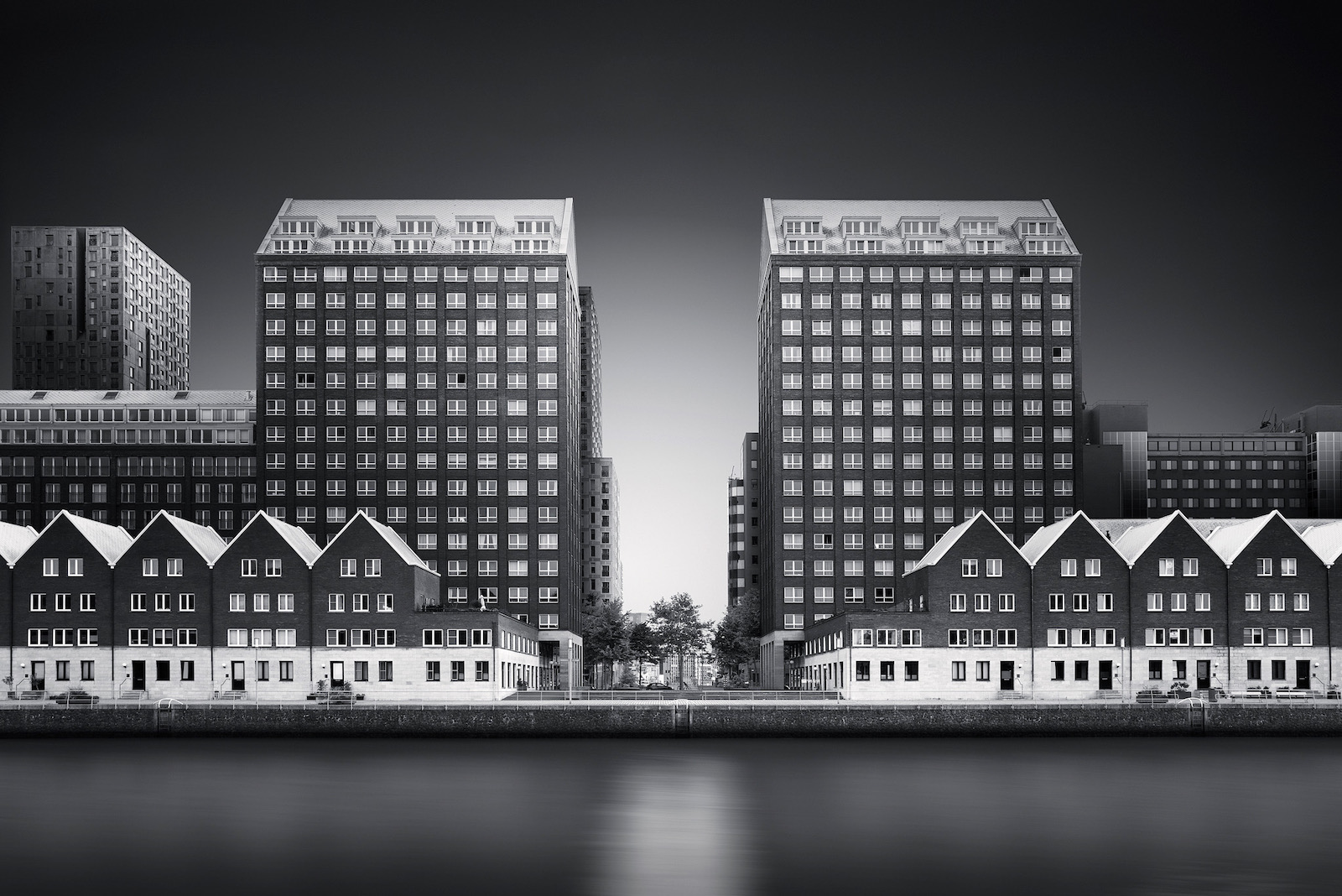 long exposure Rotterdam