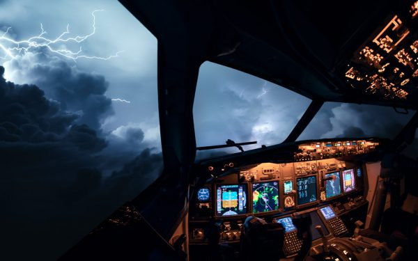 Severe Weather from the cockpit